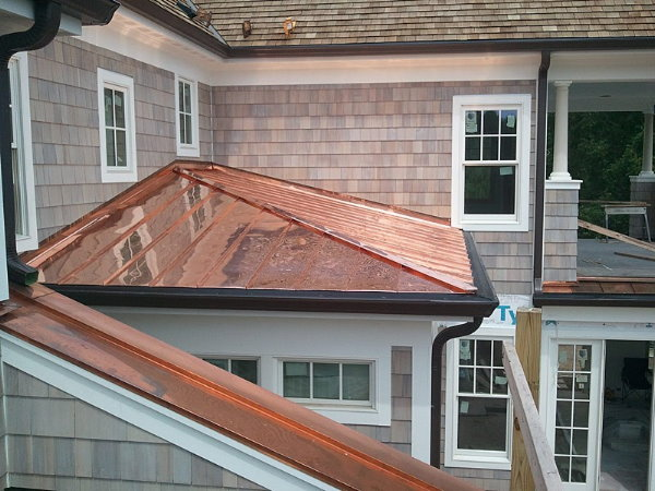 Copper-roofing